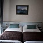 Chambre de l'hôtel Le Branhoc à Auray